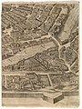 Plan of the City of Rome. Part 10 with the Tiber and the Villa Farnesina MET DP825222.jpg