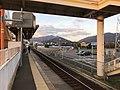 Platform of Kajikuri-Godaichi Station 4.jpg