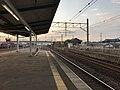 Platform of Nabeshima Station 3.jpg