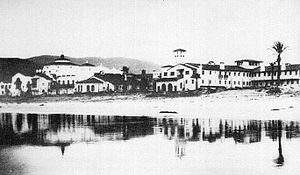 Hotel Riviera del Pacífico - The hotel at its opening in 1930