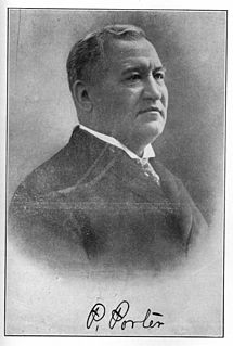 Pleasant Porter American businessman
