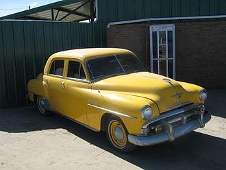 Plymouth Cranbrook - 1952 Plymouth Cranbrook Four Door Sedan