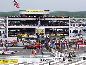 Sports in Pennsylvania - NASCAR racing at Pocono Raceway in Long Pond