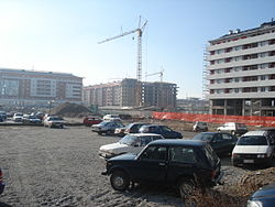 Construction boom in Podgorica