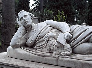 Benjamin Edward Spence - Benjamin Edward Spence, monument for the grave of Devereux Plantagenet Cockburn in the Protestant Cemetery, Rome