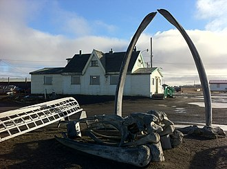 North Slope Borough, Alaska - Image: Point Barrow Refuge Station 2012