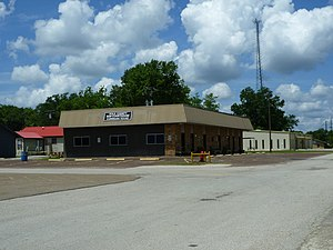 Corrigan, Texas - Image: Polkcounty Corrigan Subcourthouse