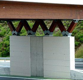 pont d 39 acc s l 39 aire de chavanon wikip dia. Black Bedroom Furniture Sets. Home Design Ideas