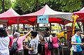 Popcorn Booth at Futai Village Duanwu Festival Carnival 20150613.jpg