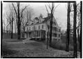 Popham House, 1015 Post Road, Scarsdale, Westchester County, NY HABS NY,60-SCARD,1-1.tif