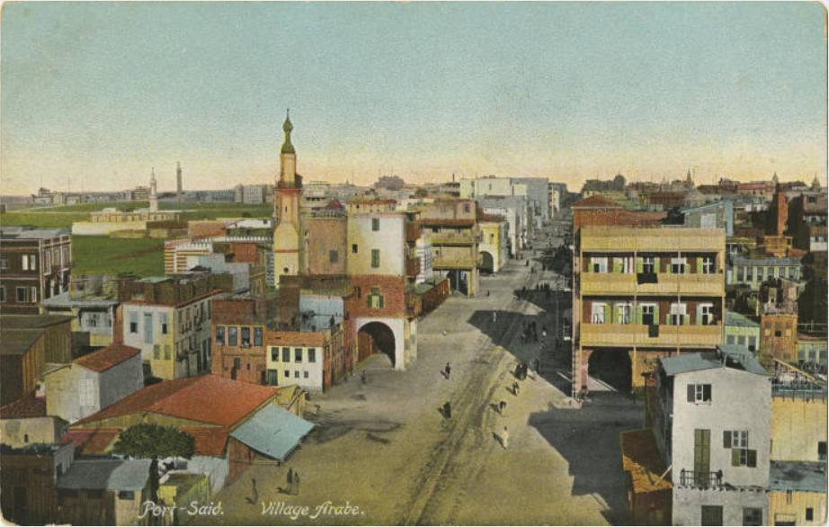 Port-Said. Village Arabe