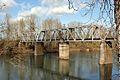 Portland & Western (ex-Southern Pacific) bridge - Albany, Oregon.jpg