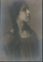 Portrait of Spanish-Hawaiian girl titled 'The Chieftess' 1909 (1).jpg
