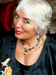 Xaviera Hollander, a former madam, call girl, and author (at one time New York City's leading madam).