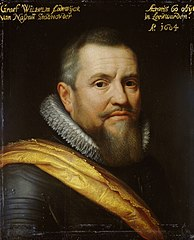 Portrait of Willem Lodewijk (1560-1620), Count of Nassau, nicknamed in Frisian 'us heit' (our father)
