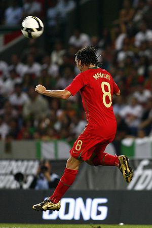 Maniche - Maniche playing for Portugal in 2009