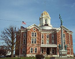 Posey County Courthouse in Mount Vernon