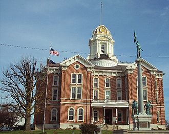 Posey County, Indiana - Image: Posey County Courthouse