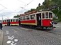 Průvod tramvají 2015, 09a - tramvaj 357 a 1314.jpg