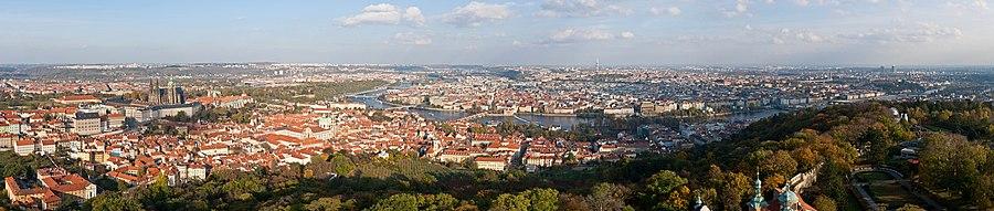 Панорама Праги. Фото 23.10.2010 года