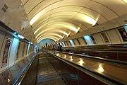 Eskalátory (vč. vybavení tunelu) ve stanici Jinonice se dochovaly beze změn od roku 1988, kdy byly instalovány