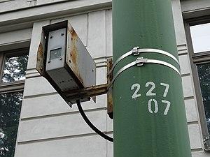 Praha, Svobodova za ulicí Na Děkance, inframaják DORIS (01).jpg