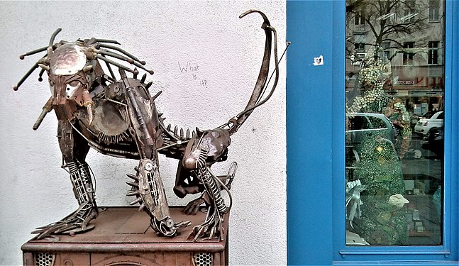 "Predator, Sculpture using ""found metal"" objects.jpg"