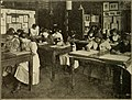 Preparation for trades; Manhattan trade school for girls, Vocational school for boys, Murray Hill vocational school, Brooklyn vocational school for boys (1916) (14775980452).jpg
