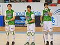 Presentacion HC Liceo, Pazo dos deportes Riazor, A Coruña, HC Liceo vs CP Vic 4.JPG