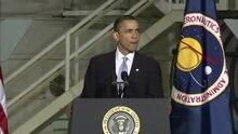 Файл: Президент США Барак Обама выступает на Кеннеди Космического Center.ogv