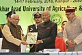 President Ram Nath Kovind with Governor of Uttar Pradesh Ram Naik at Agricon 2018.jpg