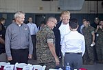President meets leaders of storm-ravaged North Carolina at MCAS Cherry Point 003.jpg
