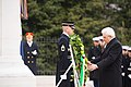 President of Italy lays a wreath at the Tomb of the Unknown Soldier in Arlington National Cemetery (24879488165).jpg
