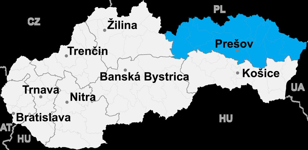 Bildergebnis für eperies presov landkarte