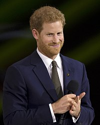 Prince Harry, Duke of Sussex Prince Harry at the 2017 Invictus Games opening ceremony.jpg