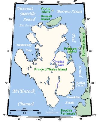 Prince of Wales Island (Nunavut) - Prince of Wales Island, Nunavut.