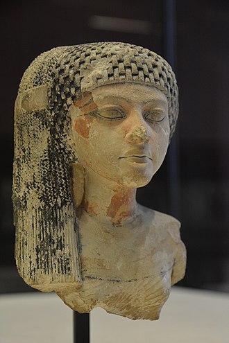Amarna art - Princess of the Akhenaten family, Louvre