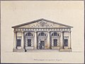 Project for the Riding-School of the Horse Guards in Saint Petersburg - Elevation of the Side Entrance MET 1997.143.1.jpg