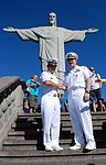 Promotion ceremony at Christ the Redeemer statue 140808-N-TN557-179.jpg