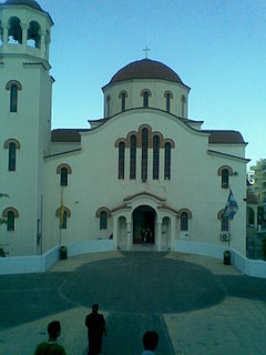 Agia Varvara Place in Greece
