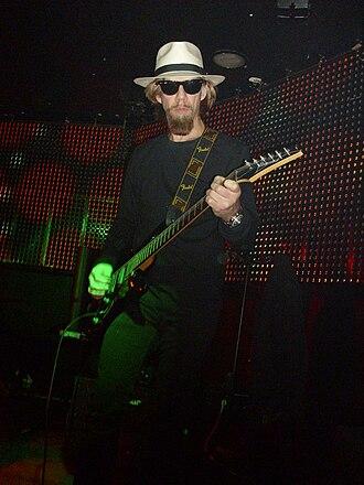 Paul Kostabi - Kostabi playing with Psychotica in 2009