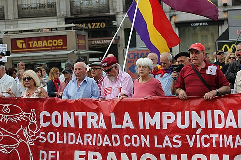 Puerta del Sol Franco Protest May 15 2014 03.JPG