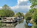 Puttershoek, zicht op vliet met kerk foto4 2012-05-13 16.55.JPG
