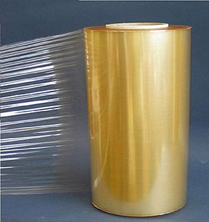 Plastic wrap Thin plastic film typically used for sealing food
