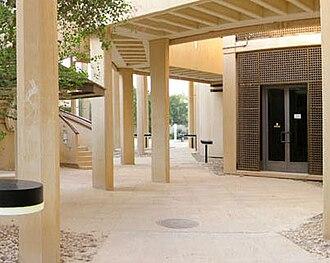 Qatar University - Men's College of Engineering corridor at Qatar University in 2008