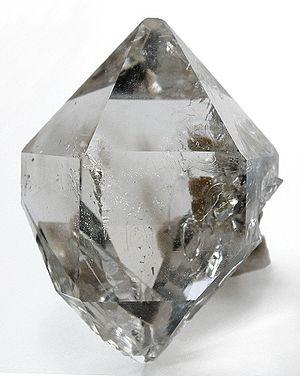Quartz (Var.: Herkimer Diamond) :: Locality: A...