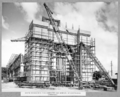 Queensland State Archives 3592 South anchor pier pier completed and removal of scaffolding commenced Brisbane 15 September 1937.png