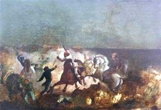 Battle of Las Queseras del Medio - Las Queseras del Medio. Arturo Michelena