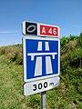 Quincieux - Panneau annonce rocade A46 (août 2019).jpg