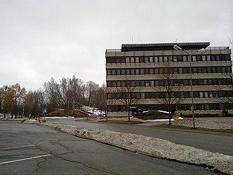 Lier, Norway - City Hall in Lierbyen